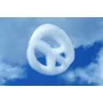 Peace Sign Cloud