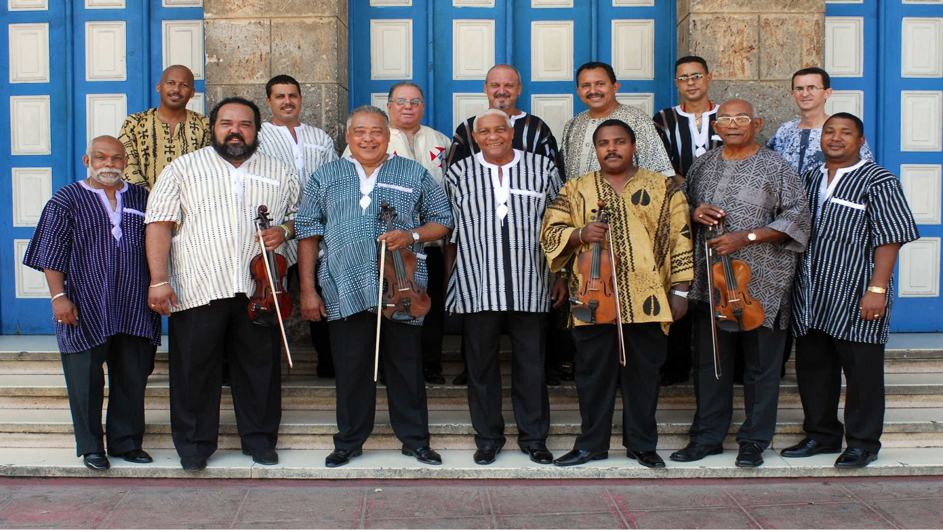ORQUESTA ARAGON – Rare NYC Appearance by the Legendary Cuban Charanga Band – Live on April 13 at PACE Presents at The Schimmel Center