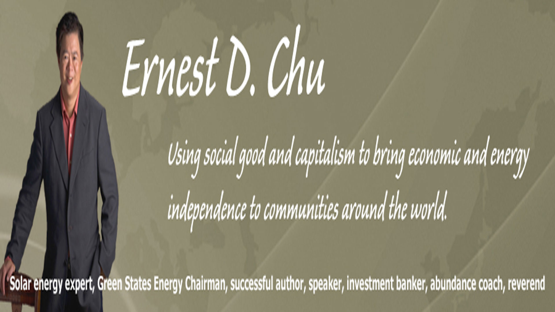 Ernest Chu part 1 of 2