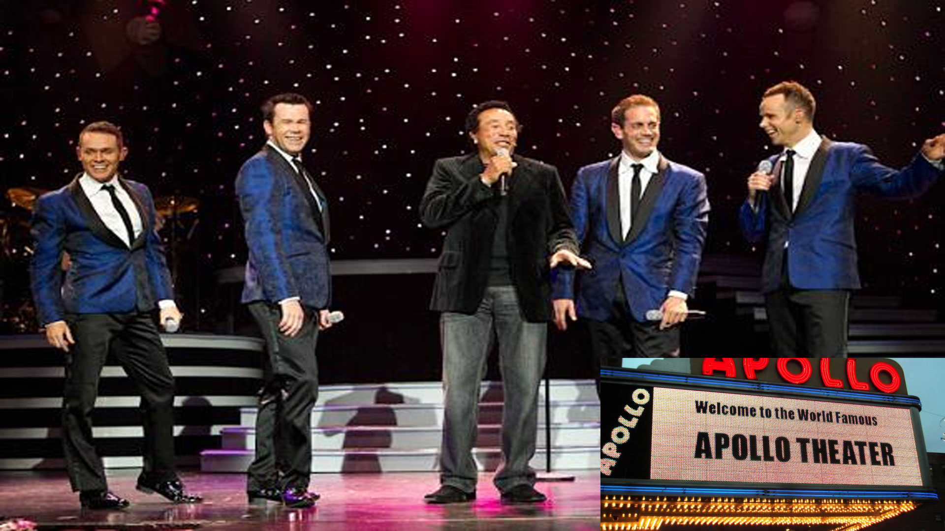 Human Nature, Australia's leading pop vocal group, Celebrates Apollo's 80th Birthday.