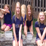 Ice Bucket Challenge:  The joys of being a child!!!!!!!