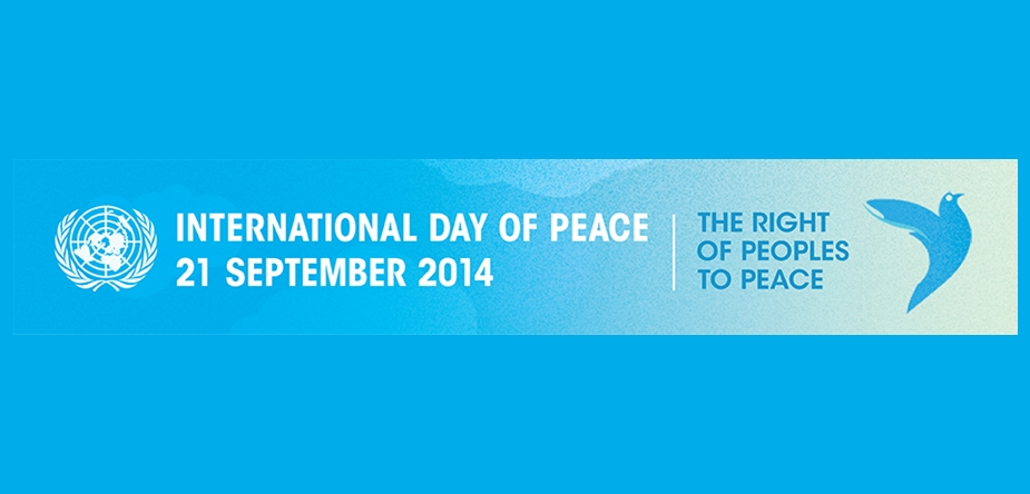Advance Media Alert: UN Secretary-General's Message for the 2014 International Day of Peace!