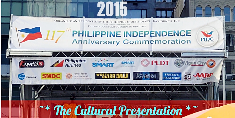 Philippine Independence Day Celebration Sponsors NYC