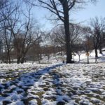 Snow in Central park……Plus some history on the Jackie Kennedy Onassis reservoir…