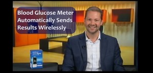 Blood Glucose Meter Automatically Sends Results Wirelessly