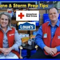 Laura Howe, Vice President for the American Red Cross, and   Paris Lytle of Lowe's Discuss Hurricane & Storm Prep Tips