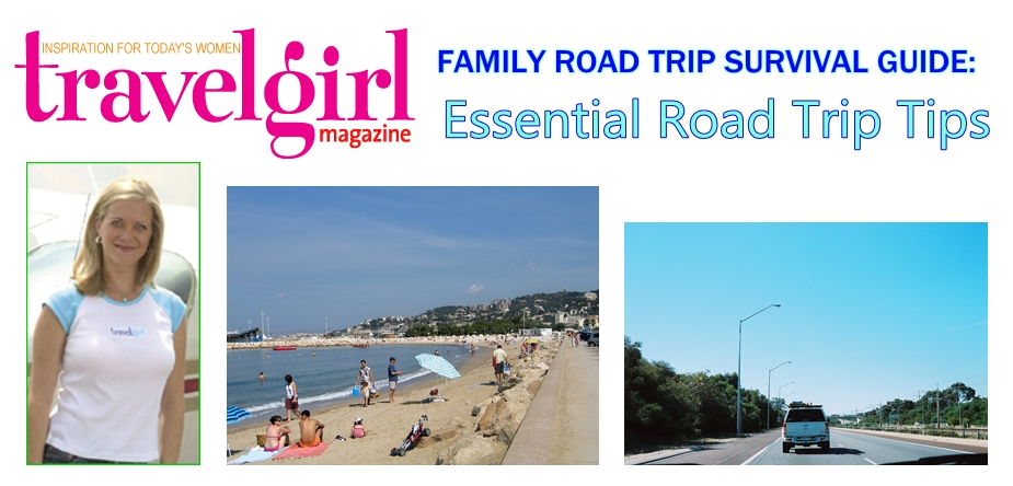 FAMILY ROAD TRIP SURVIVAL GUIDE: Travel Expert Stephanie Oswald Provides Essential Road Trip Tips