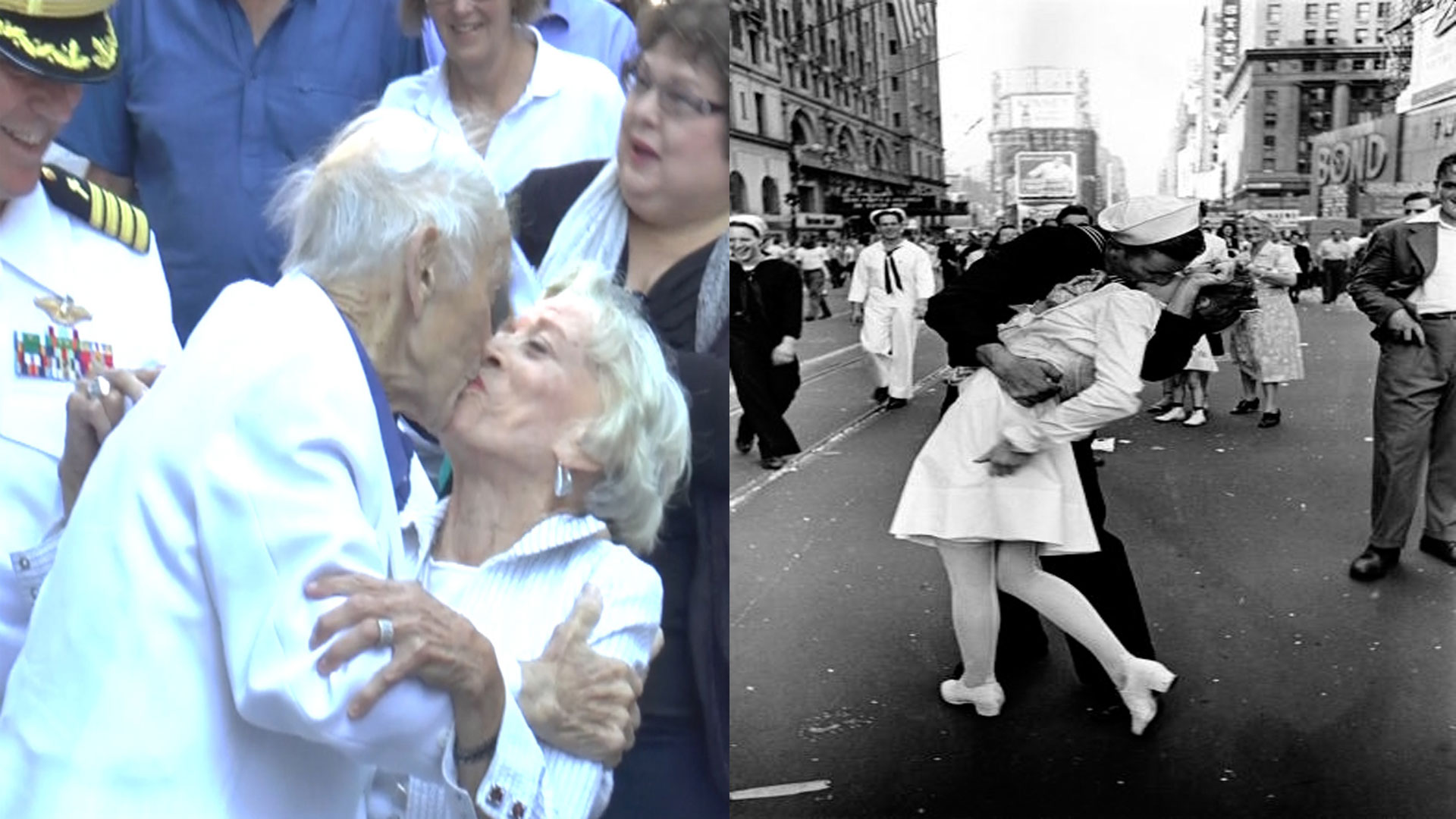 most famous kissing couple after world war ii good news planet tv