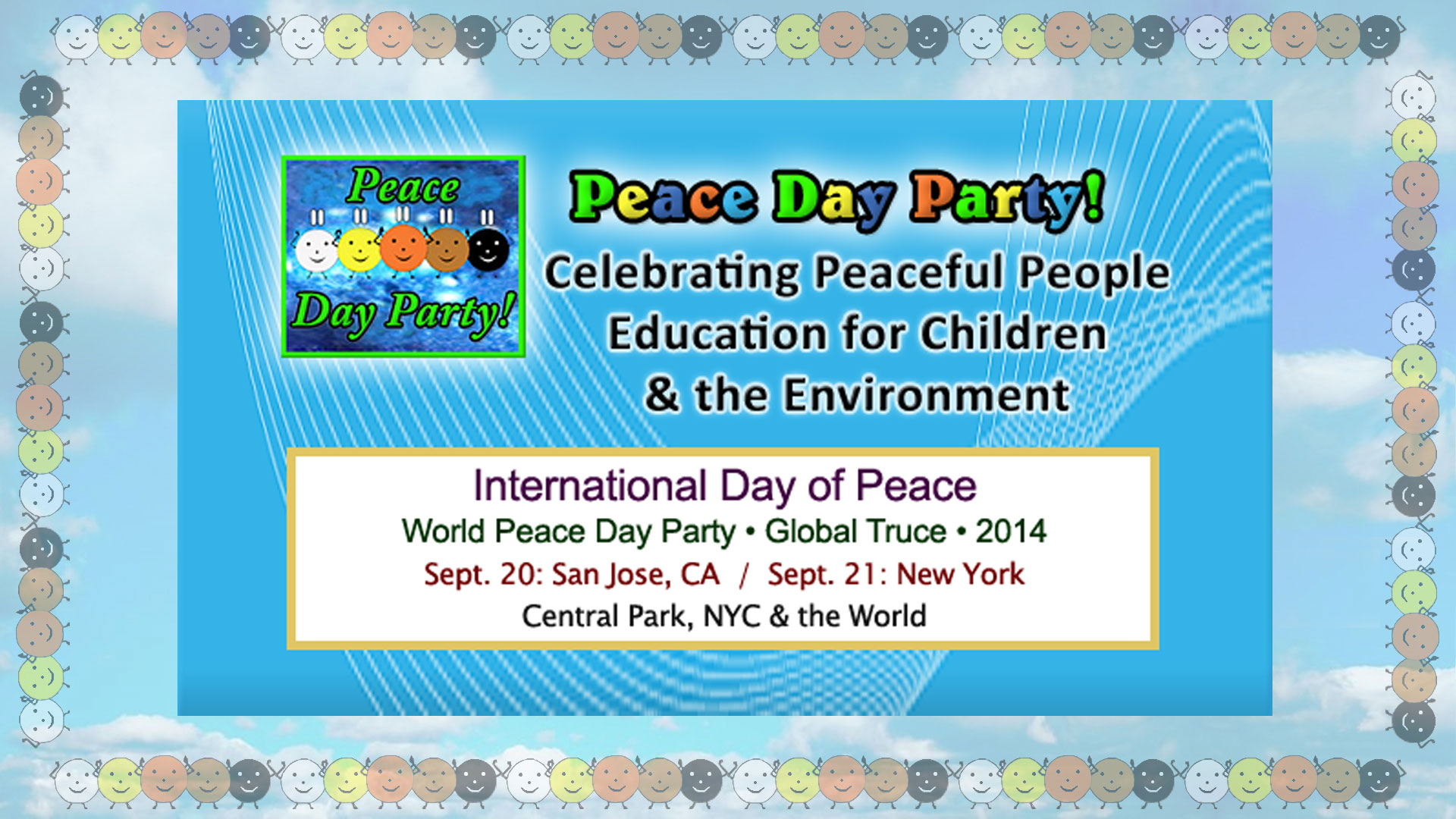 Peace Day Party