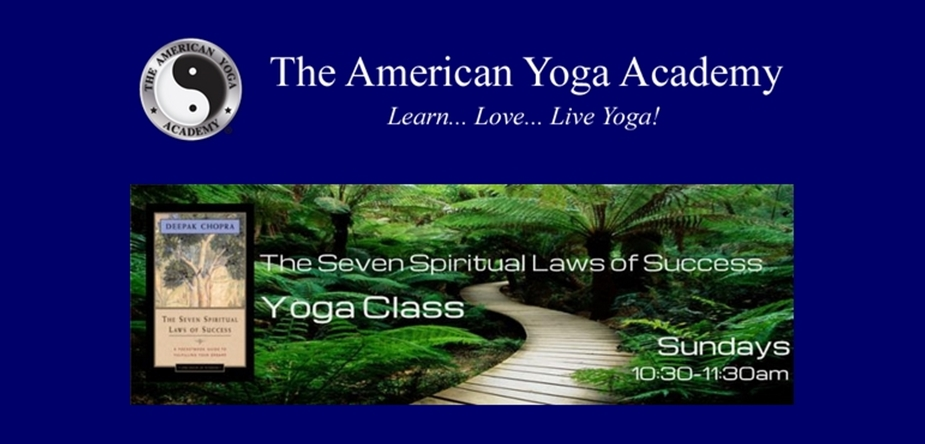 The Law of Intention and Desire – Yoga Teacher Training Now Enrolling!