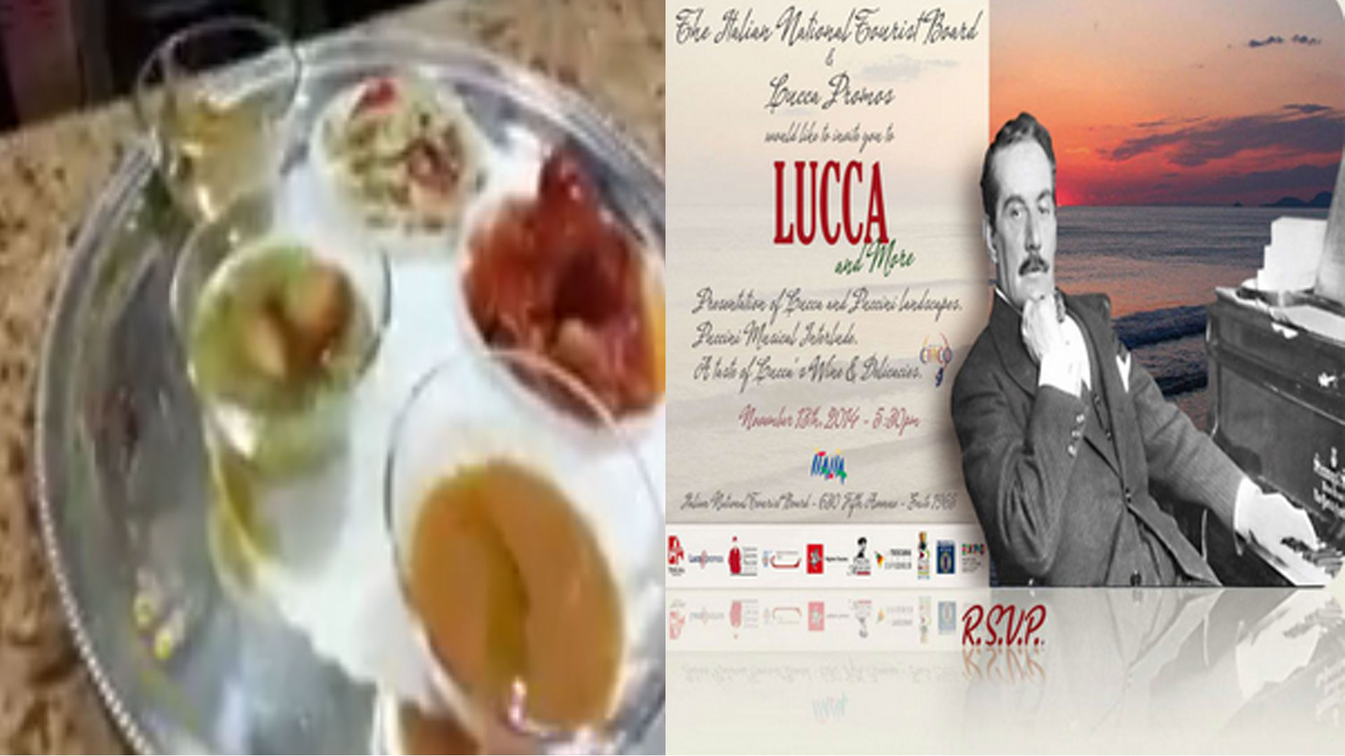 Outstanding Food from Lucca.