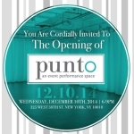 The Punto Event Performance Space