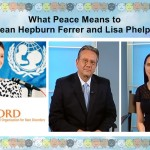 What Peace Means To Sean Hepburn Ferrer and Lisa Phelps