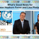 What's Good News for Sean Hepburn Ferrer and Lisa Phelps