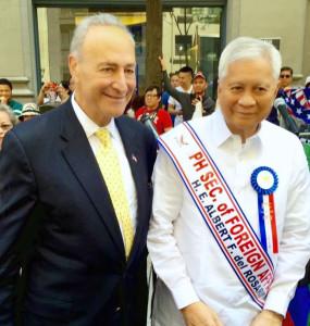 PIDCI - Albert F. del Rosario and Senator Chuck Schumer