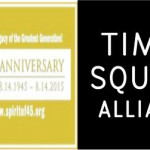 Times Square Kiss-In 2015. 11am August 14. Spirit of 45 70th Anniversary Celebration