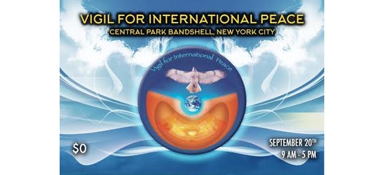 Vigil for International Peace Feature