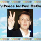 What's Peace for Sir Paul McCartney