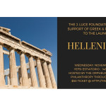 A Benefit for the J. Luce Foundation Launch of Its Hellenic Fund, Nov 4th, 6-9pm