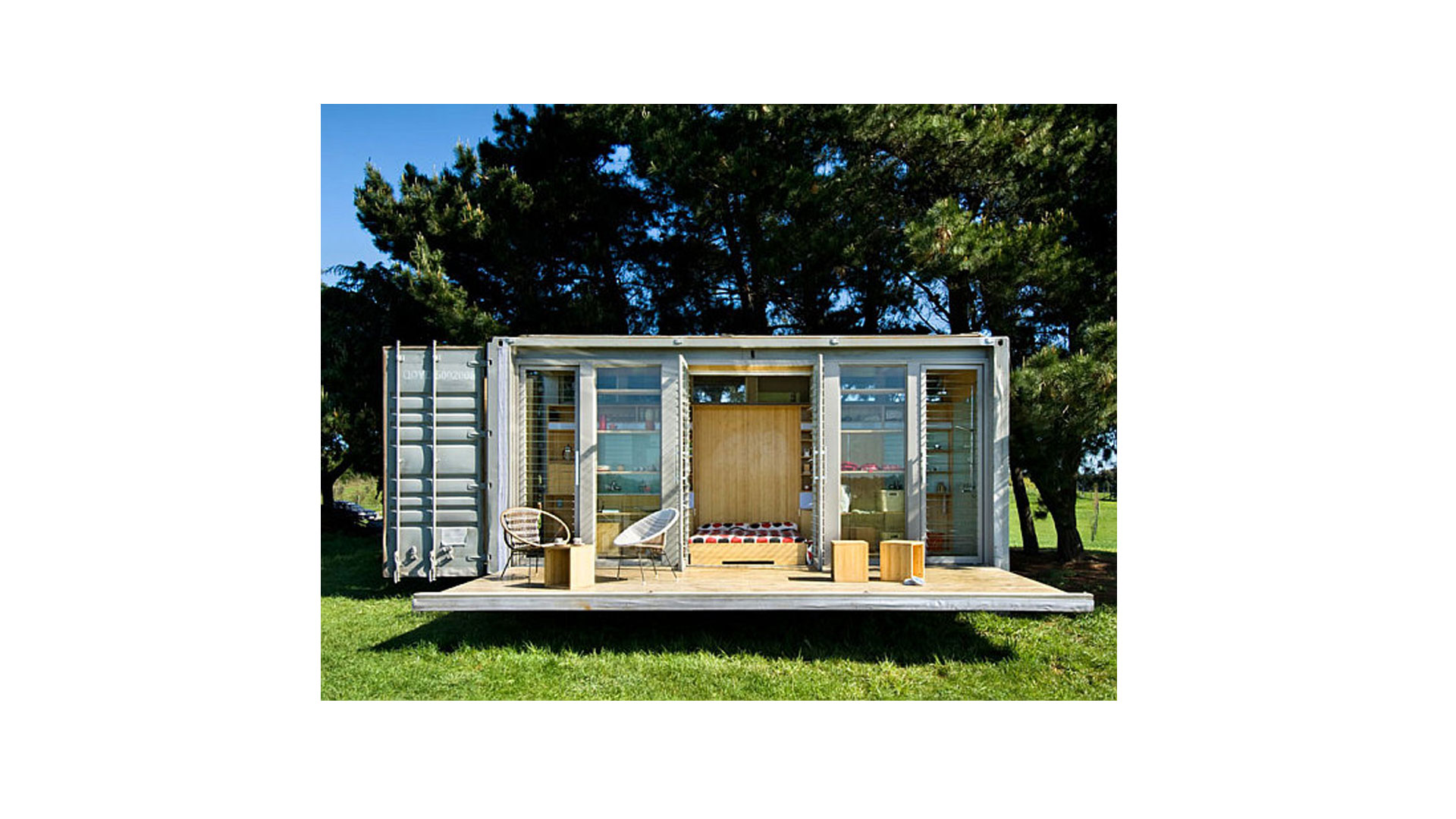 Co-MoDeco ™ Container Modular Eco Homes Sets Out the \'Welcome Mat ...