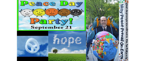 National Giving Day for Peace – Tuesday December 1 and Everyday