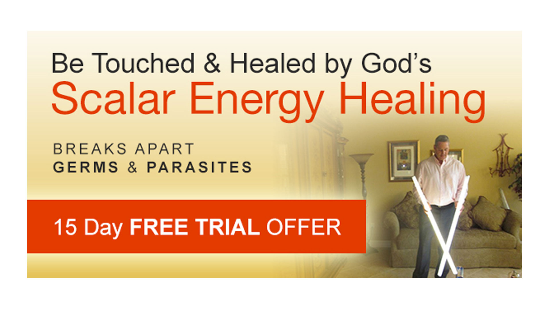 scalar energy healing machine