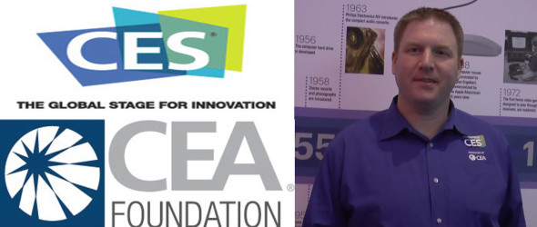 Steve Ewell,  Executive Director, CTA Foundation (Consumer Technology Association) speaks to Good News at CES in Las Vegas. We also interview Walter Alcorn, VP Environmental Affairs and Industry Sustainability.