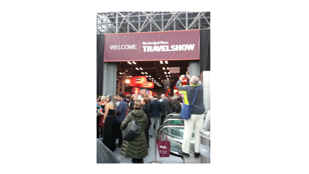 2016 new york times travel show good news planet tv for Good time to visit new york