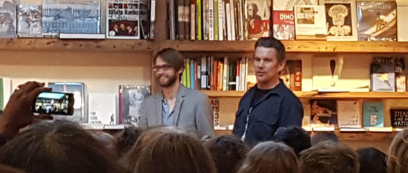 Podcast – Indeh: A Story of the Apache Wars Hardcover – June 7, 2016 by Ethan Hawke (Author), Greg Ruth  (Author, Illustrator) Event held at BookCourt in Brooklyn, NY