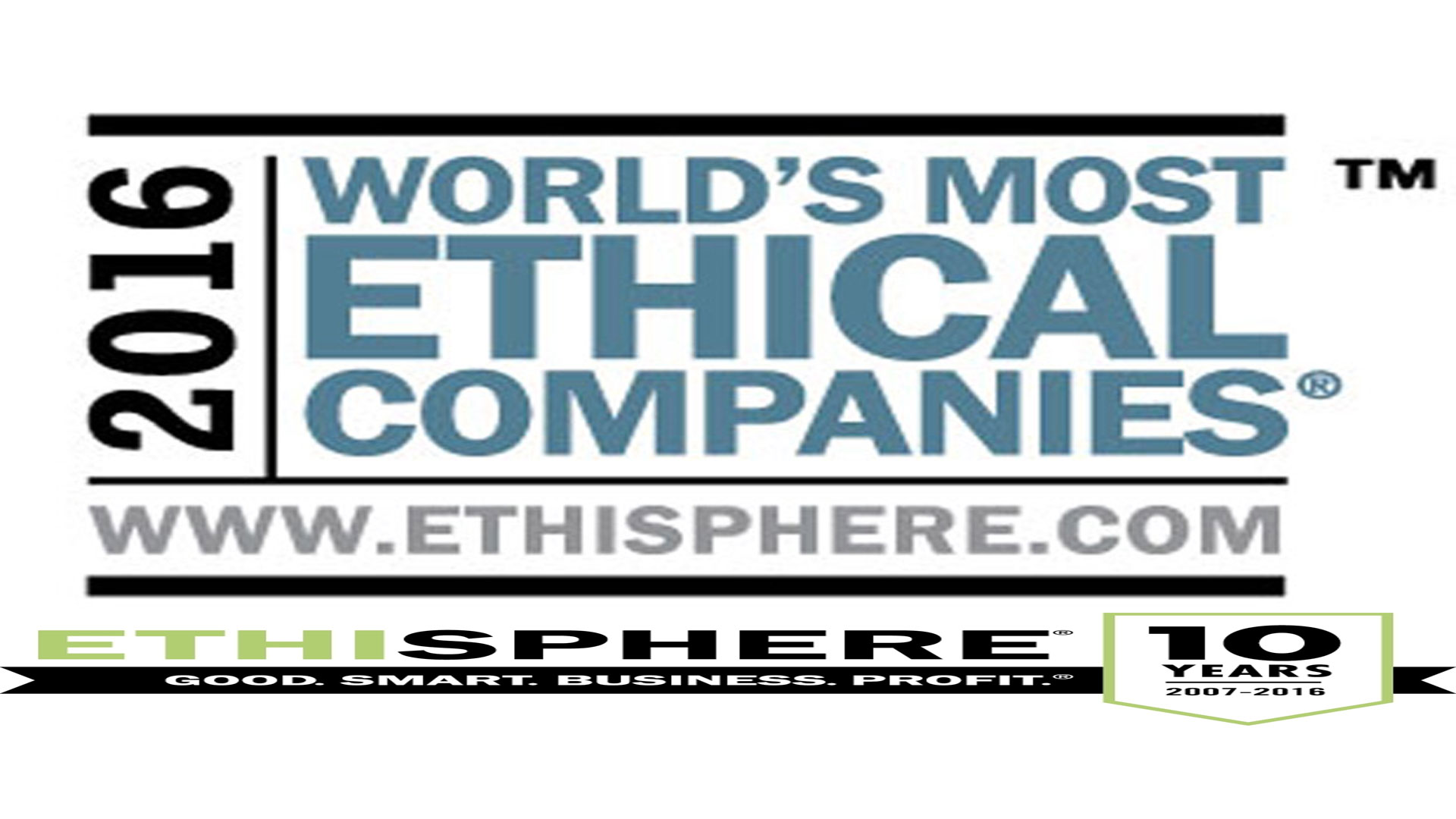 Ethisphere Announces the 2015 World's Most Ethical Companies®