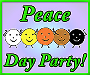 Peace Day Party badge 360x300