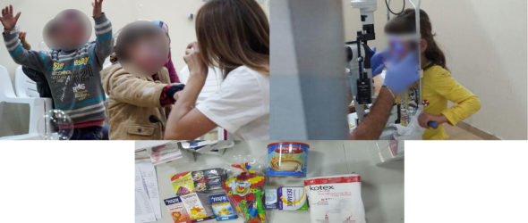 Syrian children brought to Israel for treatment