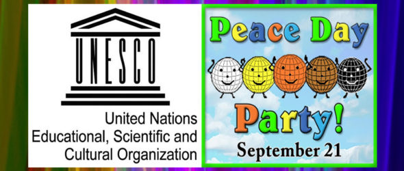 Peace Day Times Square 9/16, Central Park 9/18, World 9/21 – Press Release