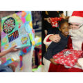 Giving Gifts to Homeless Children
