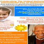 International Day of Happiness event at the United Nations NYC headquarters, 20 March 1PM-3PM