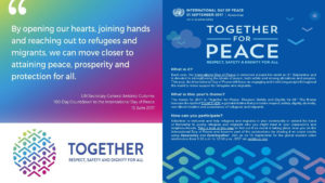 International Day of Peace NGO Committee  at the United Nations