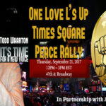 One Love L's Up Times Square Peace Rally