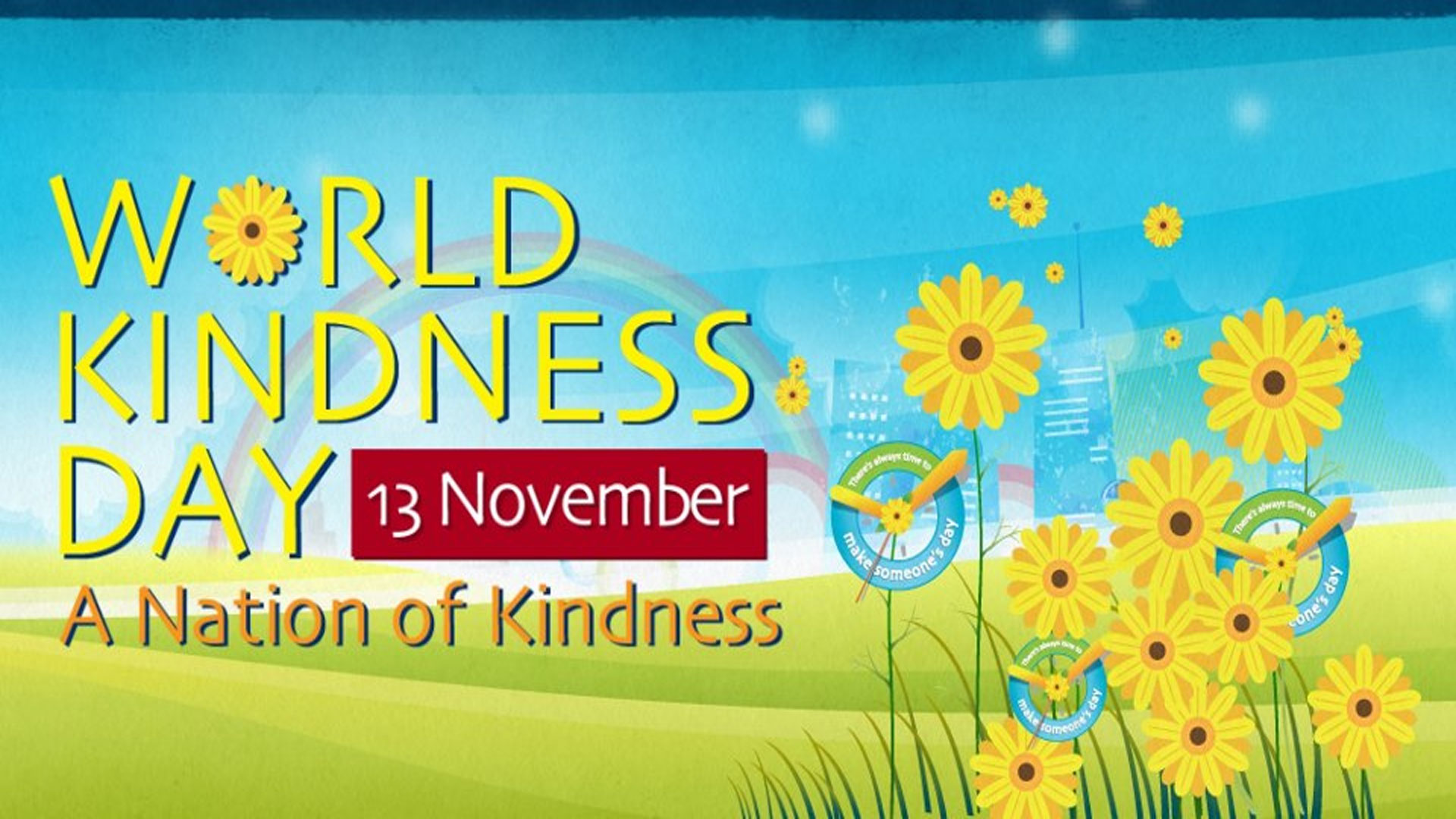 B kind Day is Today November 13.