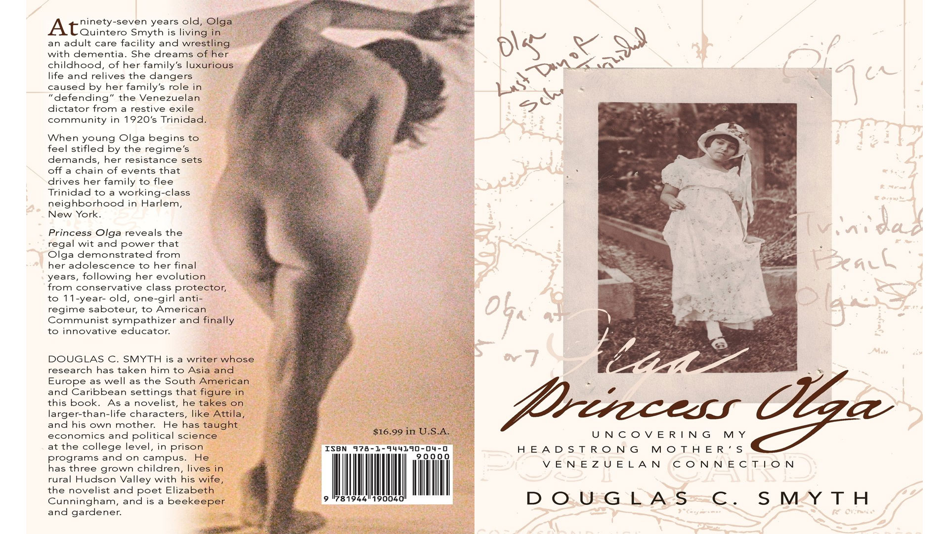 PRINCESS OLGA: UNCOVERING MY HEADSTRONG MOTHER'S VENEZUELAN CONNECTION, Click Here for Video & Podcast…